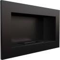 Biocamino 64x40 cm horizzontal con bruciatore da 0,5 litri senza vetro