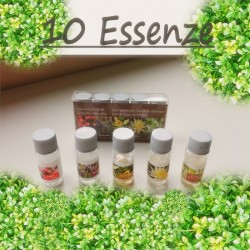 Kit 10 ESSENZE profumate...